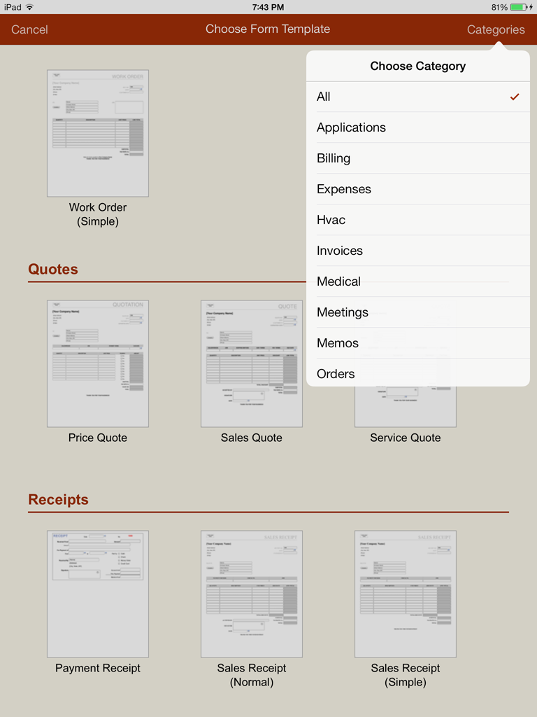 MaximumSoft :: Products :: Forms-2-Go