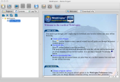 WebCopier Pro main screen