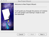 Project wizard