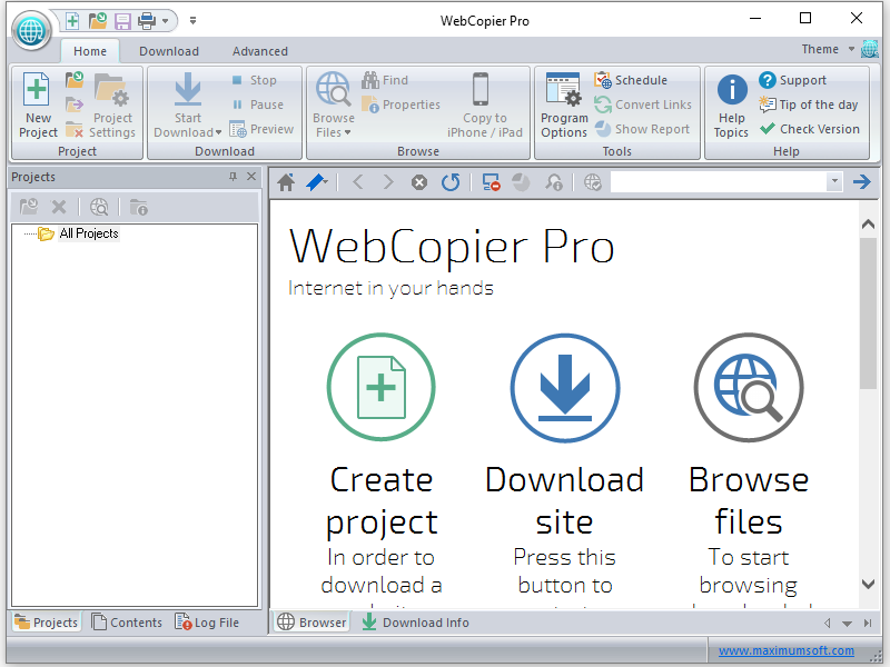 webcopier pro 5.0